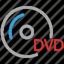 disk, dvd, save, storage icon