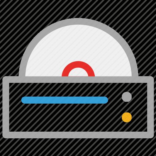 cd player, cd reader, dvd player, player icon