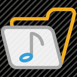 folder, music, music folder, songs collection icon