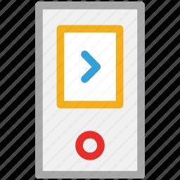 ipod, music player, nano, player icon