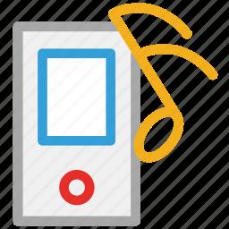 ipod, music, music player, music playing icon
