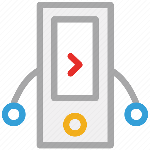ipad, iphone, music player, nano icon
