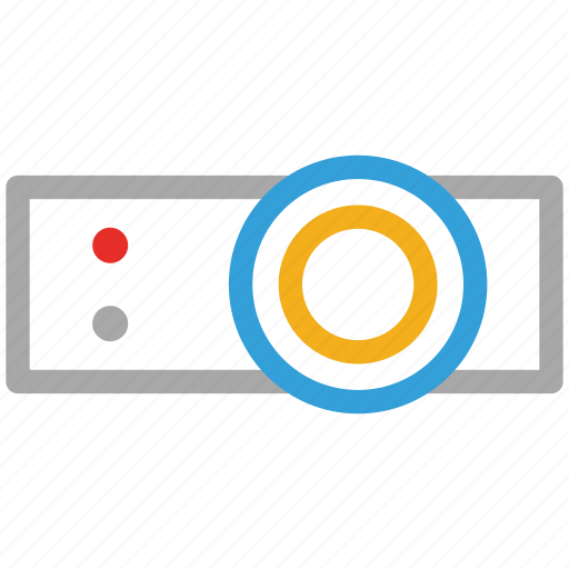 powerpoint, presentation, projector, screen icon