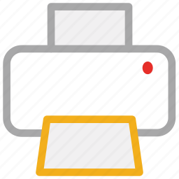 copier, fax, print, printer icon
