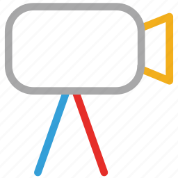 camcorder, camera, photography, video camera icon