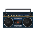 boombox, jean icon