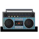 boombox, lines icon