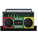 boombox, reggae icon
