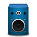 brightblue, speaker icon