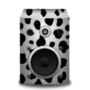 cow, speaker icon