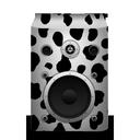 cow, speaker icon