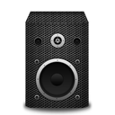metallicholes, speaker icon