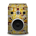 retropeach, speaker icon