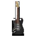 guitar, stratocastor icon