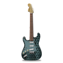 guitar, metallicholes, stratocastor icon