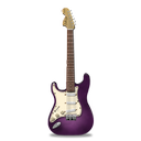 guitar, pink, stratocastor icon