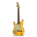 guitar, retropeach, stratocastor icon