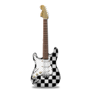 guitar, ska, stratocastor icon