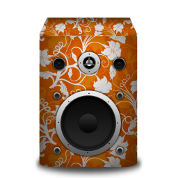 flower, speaker icon
