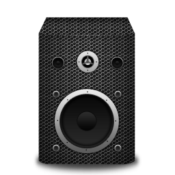 metallicholes, speaker icon