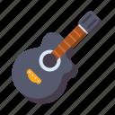 acoustic, guitar, music