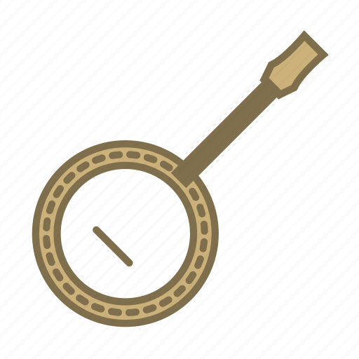 band, banjo, instruments, music, musical instruments, song, strings icon
