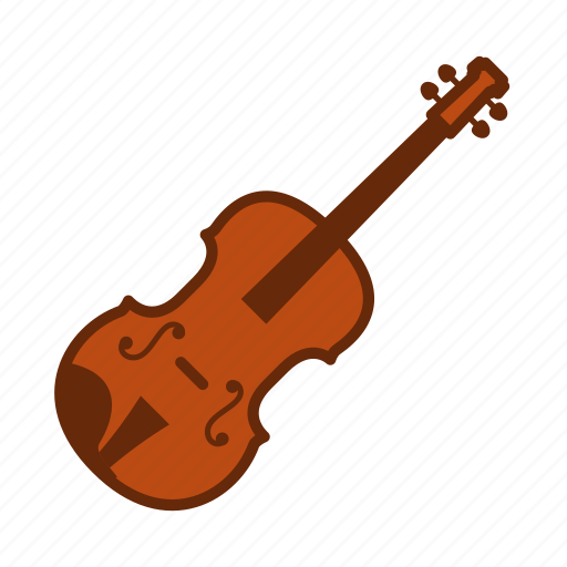 instruments, music, musical instruments, orchestra, song, strings, violin icon