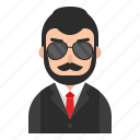 avatar, beard, man, muslim, people, profile