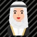 avatar, hijab, muslim, people, profile, woman