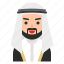 avatar, beard, bisht, islam, keffiyeh, man, muslim
