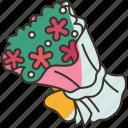 bouquet, flower, flora, wedding, blossom