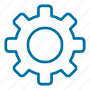 application, gear, interface, options, set, settings, toolkit icon