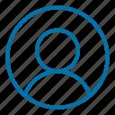 avatar, interface, profile, social media, user, user avatar, web icon
