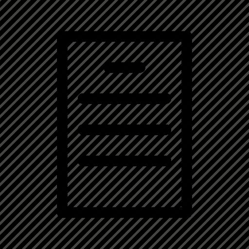 document, task icon