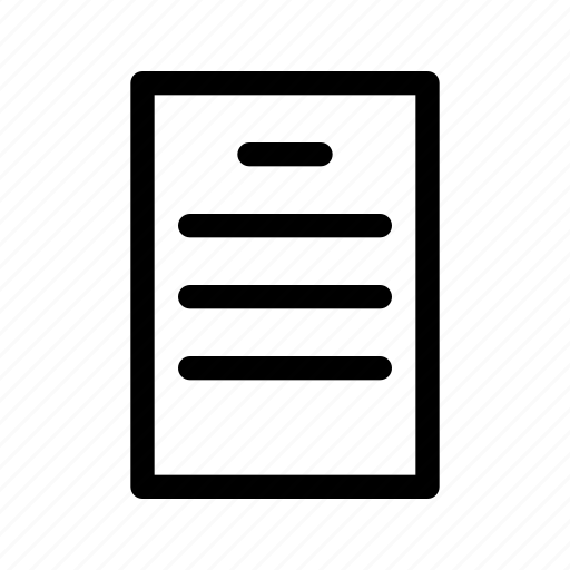 Document, task icon - Download on Iconfinder on Iconfinder