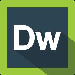 adobe, design, dreamweaver, extension, file, format, software icon