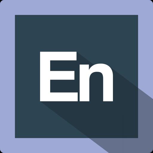 adobe, design, encore, extension, file, format, software icon