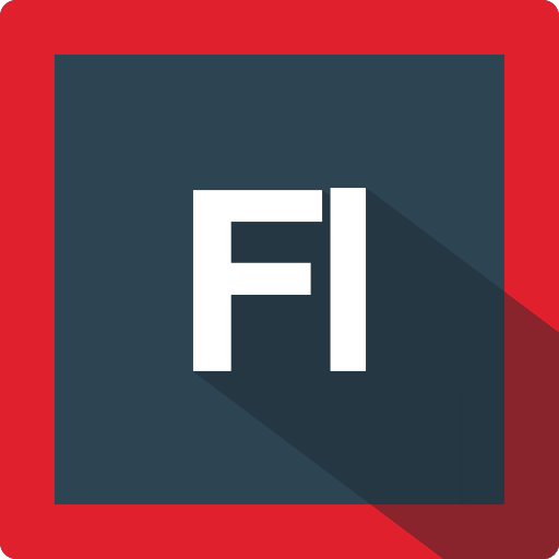 adobe, design, extension, file, flash, format, software icon