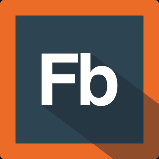 adobe, builder, design, extension, file, flash, flash builder, format, software icon
