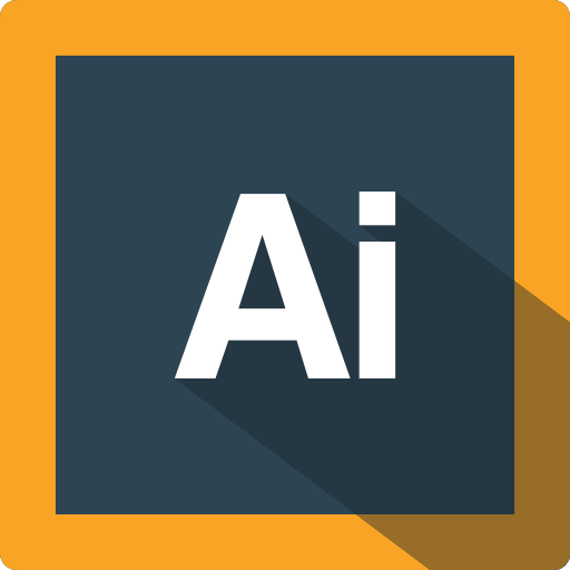 adobe, design, extension, file, format, illustrator, software icon