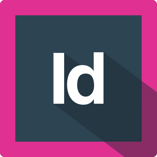 adobe, design, extension, file, format, indesign, software icon