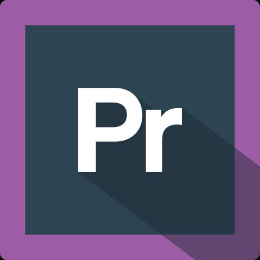 adobe, design, extension, file, format, premiere, software icon