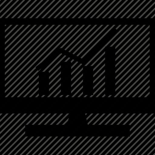 analytics, chart, graph, statistics, up icon