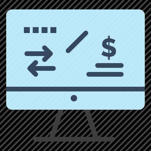 computer, finance, income, regulation, tax icon