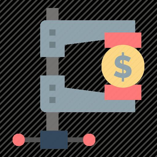 business, finance, income, market, reform icon