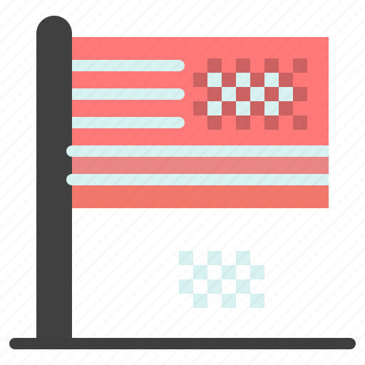 american, collapse, decline, dream, fall, flag icon