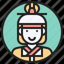 costume, japan, man, nippon, traditional icon