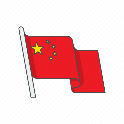 china, country, flag icon