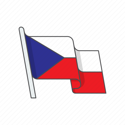 country, czech, flag, republic icon