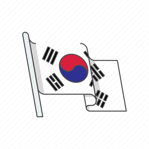 Country, flag, korea, south icon - Download on Iconfinder